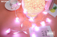 WOXIU led Cloth love light Christmas Cord String decor for h...