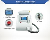 Écran tactile de 2000MJ Q Switch ND Yag Laser Tatouage Machines de retrait Pigments Removel 1064nm 532nm 1320nm DHL Livraison gratuite