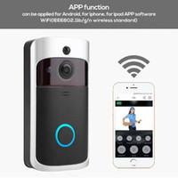 Modernes Design Wireless Türklingel WiFi Türklingel Smart Video Audio Telefon PIR Bewegungserkennung Türglocken Home Security System Neu