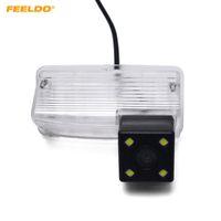 FEELDO voiture caméra arrière avec lumière LED pour Toyota Corolla E120 / E130 / Reiz (10 ~ 12) / Vios (03 ~ 08) Caméra de recul Parking # 4103