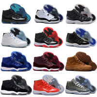 11 Prom Night XI Cap and Gown 11s Gym Rojo PRM Heiress Midnight Navy mujeres Hombre Zapatos de baloncesto Bred Space Jam Sport Sneakers
