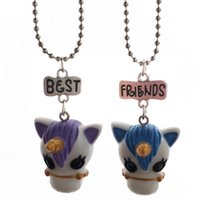 2 Pieces Per Set Unicorn Pendant Necklaces For Children Girl...