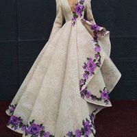 비대칭 레이스 공식 댄스 파티 드레스 딥 브이 - 넥 긴 소매 자수 Appliques 이브닝 드레스 섹시한 레드 카펫 드레스 2018 파티 가운