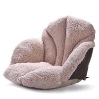 58 * 39 * 39CM 야외 소프트 쿠션 베개 좌석 쿠션 홈 장식 무성한 의자 쿠션 두꺼운 면화 플러시 백 패드 소파