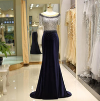 2019 beaded elegant prom gowns customize sleeveless slim fit...