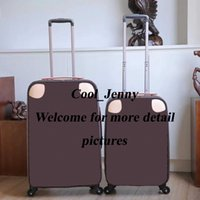"""Rolling Bagages Mode Designer Haute Qualité Quatre roues Sac à chariots de roues Hommes Voyage Voyage 20 """"24"""" Carry sur bagages pour femmes"""