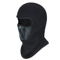 Winter Warm Windproof Balaclava Full Face Cover Thermal Flee...