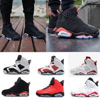 mens baratos sapatilha 6 6s Basketball Shoes UNC infravermelhos 23 Gatorade EP Olimpíadas Oreo melhor estilo trainer moda dos homens da qualidade esportes sapatos