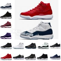 2018 11 men women basketball Shoes high Midnight Navy gym re...