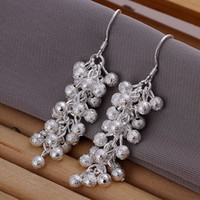 Fine 925 Sterling Silver Bead Earring for Women, 2018 New XM...