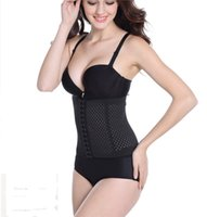 Breathable Waist Tummy Girdle Belt Hollow Sport Body Shaper ...