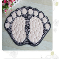 Carpet In The Shape Of A Foot Anti-slip Bathroom Carpet Super Soft Floor Mats Pad Bath Mat For Kitchen Carpet Bathroom Lovely Doormat