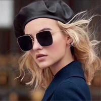 Vente chaude nouveaux hommes de mode de haute qualité lunettes de soleil lunettes de soleil femmes protection UV avec boîte d'origine Sunglass