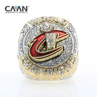 Drop shipping 2016 Cavaliers Campionato di basket Ring 23 JAMES Ring for Fans