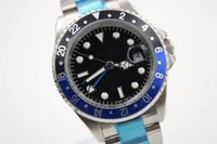 HOT Luxury brand New Gent' s GMT Automatic Watches Stain...