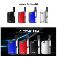 100% Original Kangvape Mini 420 Caixa Kit 400 mAh VV Bateria Mini TH420 Vape Mod Com 0.5 ml 510 Cartuchos de Óleo Grosso Vape Tanque