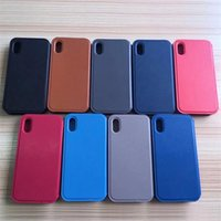 Leather Cell Phone Cases For iPhone X 8 Card Holder Card Sta...