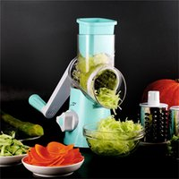 Round Mandoline Slicer Vegetable Cutter Manual Potato Julien...