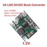 2A LDO 2 56VDC~1 2V 1 5V 1 8V 3 3V 4 2V降り注ぎDC DC降圧コンバータ固定出力電圧