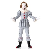 Halloween Stephen King' s It Pennywise Cosplay Costume 2...