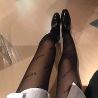 Full BA Letter Transparent Stockings Europe America New Pure...
