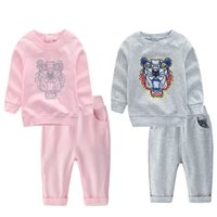 2018 Kids Warmed Clothing Sets Girl baby long sleeve Sweater...