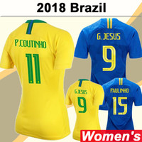 2018 World Cup Women Soccer Jerseys National Team G. JESUS PA...