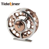 Moulinet de pêche à la mouche Tideliner 3 BB 163g 7/8 # 90mm tout en métal de haute qualité La roue de moulinet à mouche peut être changée de gauche à droite