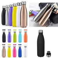Cola shaped Bottle Water Cup Stainless Steel Thermos Insulat...