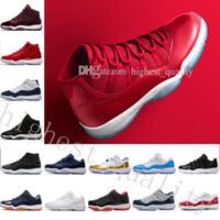 Barato Nuevo 11 Gana Like 96 82 Gym Red Chicago concordado criado Space Jam 11s XI Hombres Zapatillas de baloncesto Sneakers women Sports Outdoor Shoes US 5.5-13