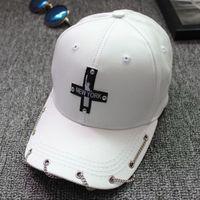 뉴욕 자유 모자 양동이 체인의 동상 크로스 야구 모자 슈퍼 품질 스포츠 오리 혀가 음영 남자와 여자 모자 처마