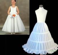 Blumenmädchen Kinder Petticoat Kinder Krinoline Undersakirt Beleg für Kleines Mädchen 55 cm Lange 3-Hoops Hohe Qualität Schnelles Verschiffen
