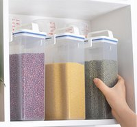 Portable Plastic Dried Food Cereal Flour Pasta Food Storage ...