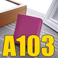 LM 2018 Q4 BA 103 Neue Stil Frauen zweifach kurze Geldbörse Kartenbeutel einfache weiche Oberfläche dünne Studentengeldbörse BA103