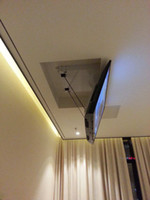 "Eversion Motorized electric ceiling Led lcd tv lift mount hanger holder remote control function 110v-250v ,Fit for 32""-70"" TV Ma"