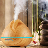 400ml Aroma Essential Oil Diffuser Ultrasonic Air Humidifier...
