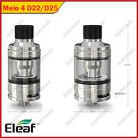 Original Eleaf Melo 4 2 ml D224.5ml D25 Behälter 0.3ohm / 0,5 Ohm EC2 Spulenkopf Fit Eleaf IKuun I80 / iKuun I200 MOD