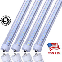 Stock in USA LED Tube Light 45W T8 FA8 Single pin 8ft 2. 4m L...