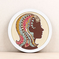 Round Photo Frame without Inner Picture Wooden Photo Frames ...