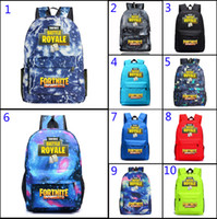 New kids fashion Fortnite Battle Royale School Bag Starry sk...