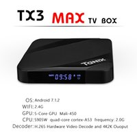 TX3 Max Android 7. 1 TV Box Quad Core 2GB 16GB Amlogic S905W ...