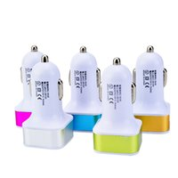 Micro Auto Universal Dual USB Автомобильное зарядное устройство 5V 2.1a Мини-адаптер с коротким замыканием для сотового телефона и настольного ПК