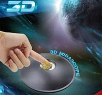 1 X 3D Mirascope Hologram Kamer Magic Box Optische Projectie Visuele illusie Speelgoed Grappige Wetenschap Educatief