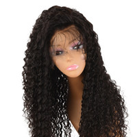 6A Grade Brazilian Hair 150 Density Long Lace Front Wig Huma...