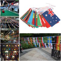 32 Squadre Flags String Russia World Cup 2018 Bunting Of Flags Party Home Decor