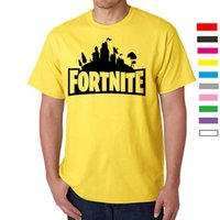Summer Fortress Night Fortnite New Cotton Loose Men' s S...