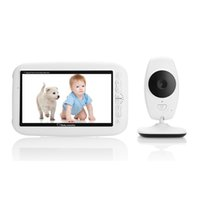 babykam cry baby video monitor baby phone 7. 0 inch IR night ...