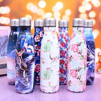 NEW color cola shape water bottles 500ml stainless steel The...