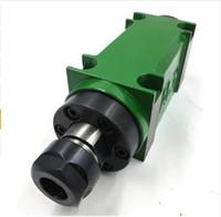 750 W 1HP Poder Cabeça ER20 Chuck Spindle Unidade 60mm 80mm Fuso Mecânico CNC Perfuração De Perfuração Chato Máquina De Corte Ferramenta