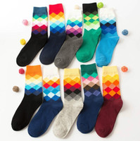 Winter Men' s Socks Colorful Casual Cotton Happy Socks G...